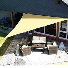 outdoor sun shade outdoor sun shelter waterproof awning triangle tent canopy garden beach picnic camp shade