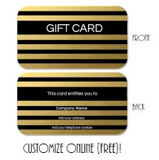 gift card template gift card template