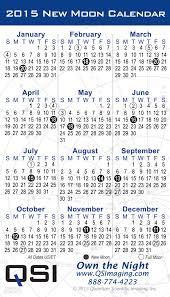 Printable Moon Calendar Calendar Template 2019