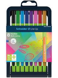 <b>Ручки</b> капиллярные (<b>линеры</b>) <b>Schneider Line</b>-<b>Up</b>, 8 штук, толщина ...