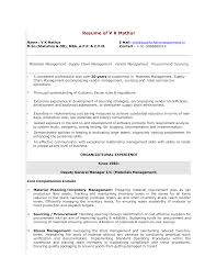Assistant General Manager Resume Templates At
