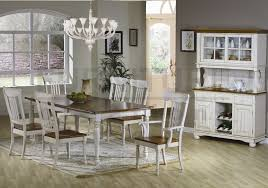 country farmhouse table and chairs with stylish country style dining room sets com white dining