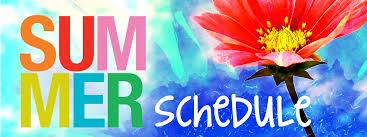Resultado de imagen de summer schedule