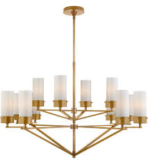 visual comfort tob5303hab wg thomas obrien marais 12 light 45 inch hand rubbed antique brass chandelier ceiling light large