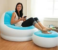 intex inflatable furniture. Intex Inflatable Sofa And Stool 68572NP Furniture