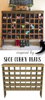 Build Your Own Shoe Cubby with Remodelaholic - Sincerely, Sara D. Make a  shoe cubby for your entry way or mud room! It will turn organization into a  decor ...