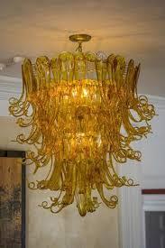 argos inn blown glass chandelier