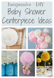 diy baby shower decorating ideas