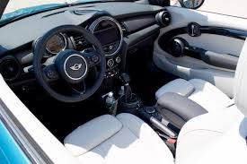 mini cooper convertible interior. no matter how little you spend on your mini leatherette seats come standard and cooper convertible interior