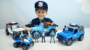 Полицейский транспорт для детей <b>Bruder</b> и Полицейский Даник ...