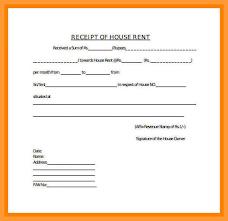 Rent Receipt Form 9 10 Housing Rent Receipt Format Aikenexplorer Com