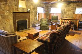 mario martin lodge is comprised of 28 rooms each room has 2 sets of bunk beds and a half bath shower facilities are located in each of the four wings and