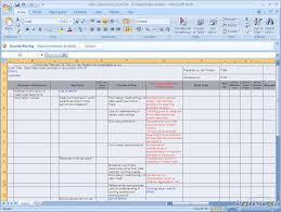 Risk Assessment Template Excel | calendar template excel