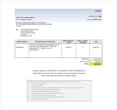 Free Word Invoice Templates 11 Word Invoice Templates Free Download Free Premium Templates