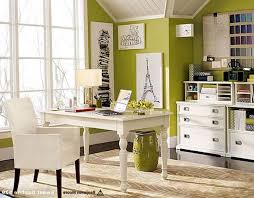 Home Office Decor Ideas Design Appealing White Table And Chair Near