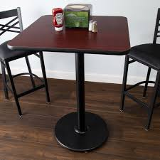 Image America Telara Image Preview Webstaurantstore Lancaster Table And Seating Bar Height Table With 30