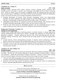 it manager resume example engineering executive resume