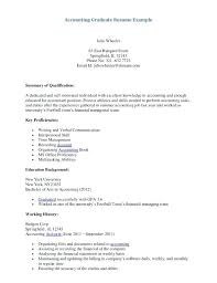 Accountant Resume Cover Letter Cover Letter Resume Format Download