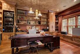 luxury home office. 4 Tags Traditional Home Office With Pendant Lighting Cinnamon Praline, Writing Desk Hekman Luxury
