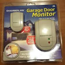 garage door open alarm