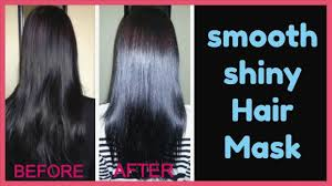 diy hair mask to get silky smooth shiny hair egg hair mask for dry