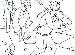 Stations Of The Cross Coloring Sheets Best Pages Pdf With Children
