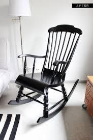 wooden rocking chair for nursery. a nursery wooden rocking chair makeover with paint- so gna for o