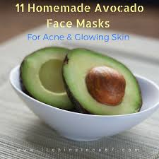 11 homemade avocado face masks for acne glowing skin