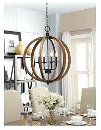 wooden orb chandelier rustic wood uk