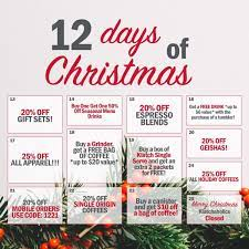 81% off (2 days ago) the above italy best coffee promotions are currently the very best across the internet. Klatch Coffee 12 Days Of Christmas Deals
