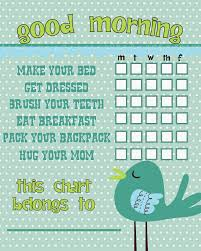 Cute Chore Chart Idea I Need To Revise This For A Bedtime