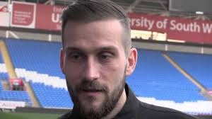 POST-MATCH: Roger Johnson speaks after the victory at Cardiff City - YouTube