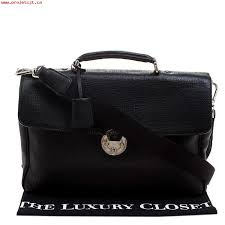 larger image fine processing bally textured briefcase laptop black leather and fabric messenger bag icdecs7f