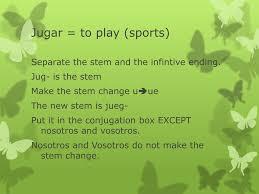 Jugar Verb Chart Ppt Irregular Verbs Powerpoint Presentation Id 5869196