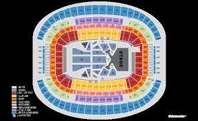 Mavericks Stadium Seating Chart 26 Comprehensive Nch Seating Map