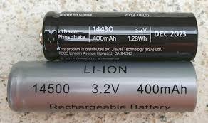 Pack Of 4 UK BuyaBattery Branded AA Rechargeable Solar Amazonco Solar Garden Lights Batteries Rechargeable