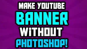 How To Make Youtube Banner Art | Best Business Template
