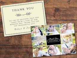 Wedding Card Collage Print Templates Resources Collage Thank You Card Photographypla Net