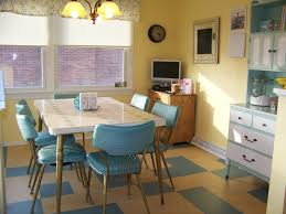 Retro Kitchen Table Chairs 1950 S Retro Kitchen Table And Chairs Best Kitchen Ideas 2017