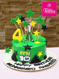 Ben Ten Kids Birthday Cake Online Cake Company Cake Feasta