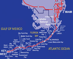 Key Largo Chart Map Of Florida Keys Top Florida Keys Map For Key Largo To