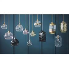 glass pendant lights design for comfort