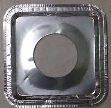 gas stove burner covers. 40 pcs aluminum foil square gas burner disposable bib liners stove covers v