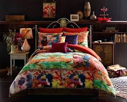 colorful queen bedding image of retro colorful comforter sets queen colourful bedding sets uk