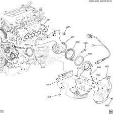 2012 2013 jv jw69 engine asm 1 4l l4 part 6 exhaust manifold