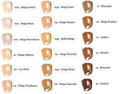 Lancome Teint Idole Ultra Wear 24h Foundation Color Chart