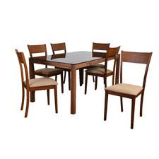 seven piece dining set: norloti  piece dining set norlotipiecediningset norloti  piece dining set