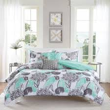 turquoise and gray bedding. Delighful Gray Floral Comforter Sets  Find Great Fashion Bedding Deals Shopping At  Overstockcom To Turquoise And Gray E