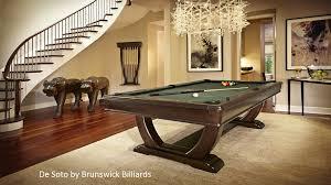 Modern billiard room home billiards Interior Home Depot Pool Tables Plus Beyer Brown Daytona Beach Fl