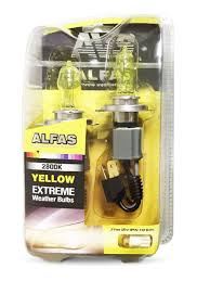 """Газонаполненные <b>лампы AVS</b> """"<b>Alfas</b>"""" 2800К H4 жёлтый ..."""